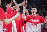 Šeimininkė Kinija pergalingai startavo Pasaulio taurėje