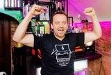 Aktorius Andrius Žiurauskas svajoja atidaryti savo barą
