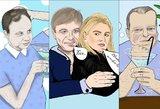 Politikų šaržus piešianti lietuvė sukūrė interneto sensaciją