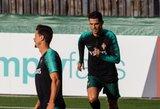 Ronaldo žais startinėje sudėtyje
