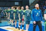 Lietuvos vyrų rankinio rinktinei – šimtmečio šansas