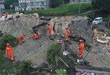 Žemės drebėjimas Kinijoje: žuvo 12 žmonių, sužalotų virš 100