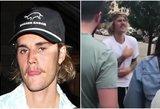 Užfiksavo šiurpų J. Bieberio elgesį: jo elgesys su gerbėja privers aiktelėti