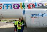 """Sunkumų krečiama """"Small Planet Airlines"""" atleidžia ketvirtadalį lietuvių"""