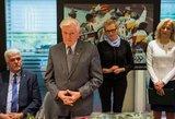 Jaunuosius sportininkus sveikino ir prezidentas Valdas Adamkus