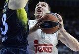 """""""Real"""" su Jonu Mačiuliu iškovojo pirmą pergalę Ispanijos vyrų krepšinio lygos finale"""