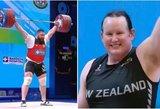 Pasaulio čempionate lytį pakeitęs vyras varžėsi su moterimis