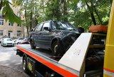 Vilniaus centre kelis automobilius apdaužusi girta vairuotoja stos prieš teismą