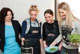 Garsenybės išmoko sveiko gyvenimo paslapčių: žinias pritaikė virtuvėje