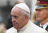 Popiežius žada teisingumą prievartautiems vaikams