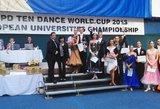 Lietuvos šokėjai tapo Europos universitetų čempionais