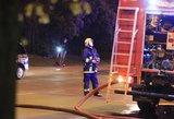 Panevėžyje sulaikytas nepilnametis kaltinamas padegęs namą ir sužeidęs jo savininką