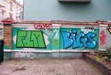 Grafičių piešėjai Vilniuje prašo daugiau namų sienų savo darbams