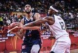 Didžiausia turnyro sensacija: prancūzai ketvirtfinalyje įveikė JAV