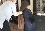 Išvydusi, ką su jos plaukais padarė kirpėja, neteko žado