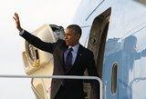 B. Obama pareiškė, ko tikisi mainais į JAV apsaugą