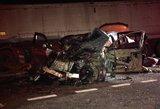 Vaizdai iš tragiškos avarijos Pasvalio rajone – iš BMW nieko neliko