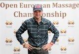 Žilviną Grigaitį sudomino Europos masažo čempionatas: to dar nebuvau matęs