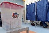 Apklausa: Latvijos Seimo rinkimuose laimėjo valdančioji koalicija