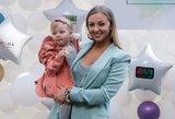 Straleckaitės dukrelė debiutavo ant podiumo: rungtyniauja su mama