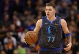 NBA siautėjantis Dončičius kėsinasi į istorinį pasiekimą