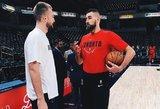 Amerikiečiai įvertino NBA lietuvius: D. Sabonis geresnis už J. Valančiūną?
