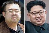 Kim Jong Uno brolio nužudymas įžiebė tarptautinę nesantaiką