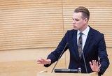 Landsbergis: tyrimą dėl Rozovos valdantieji bandys nukreipti į Pranckietį