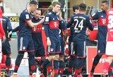 """Vokietijoje – aštuntoji """"Bayern"""" pergalė iš eilės"""