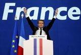 Prieš Prancūzijos prezidento rinkimus smūgis kandidato Macrono kampanijai