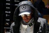 """""""Formulė-1"""": ar L. Hamiltonas Silverstoune triumfuos ketvirtus metus iš eilės?"""