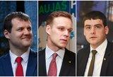 Nedžiuginanti prognozė partijų vadams: kas paskęs pirmtako šešėlyje?
