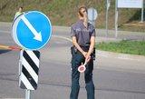 Policijos pareigūnai nustebo: Klaipėdos rajone sustabdė neeilinę vairuotoją