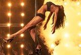 Seksualūs ir profesionalūs: geriausi 2015 metų šokiai aplink stulpą