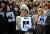 Rusijoje po ilgai trukusio tyrimo  nuteisti žinomos žurnalistės A. Politkovskajos žudikai