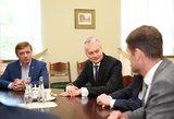 Nausėda apie ministrus: likti turi 3 – aiškėja naujas vaizdas