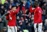 """""""Manchester United"""" ir """"Chelsea"""" kaktomuša: trys įvarčiai ir teisėjo klaida"""