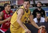 Mačiulis su komanda kausis FIBA Tarpkontinentinės taurės finale
