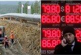 """""""Ideali audra"""" žlugdo naftos kainas ir skandina Rusijos rublį"""