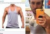 Internetu užsisakęs marškinėlius sulaukė visiško pasityčiojimo