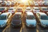 Lietuvos gatvėmis rieda vis daugiau naujų automobilių