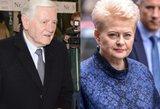 Palygino Adamkų ir Grybauskaitę: vienas buvo labiau prezidentiškas