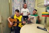"""Nuotaikinga daina apie """"Žalgirio"""" kelionę Eurolygoje užkariauja internetą"""