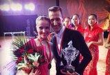 Edita Daniūtė ir Mirko Gozzoli pabaigė profesionalią karjerą dar kartą nugalėdami pasaulio čempionate