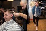"""""""120"""" narys Dovydas ryžosi pokyčiams: viešai keitė šukuoseną"""