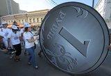 Rusijos finansų ekspertas: susidaro įspūdis, kad šalis yra netoli negrįžtamų pokyčių
