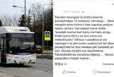 Panevėžyje – autobuso vairuotojo akibrokštas mažametei mergaitei: aš tavo centų neskaičiuosiu