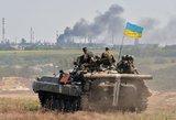 Ukrainoje per susirėmimus sukilėlių kontroliuojamame mieste žuvo 13 žmonių