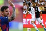 Apie konkurenciją prabilęs Ronaldo: Messi padeda man tapti geresniu žaidėju