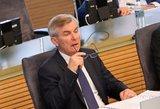 V.Pranckietis: du parlamentarai neįvykdė su slapta informacija susijusios pareigos